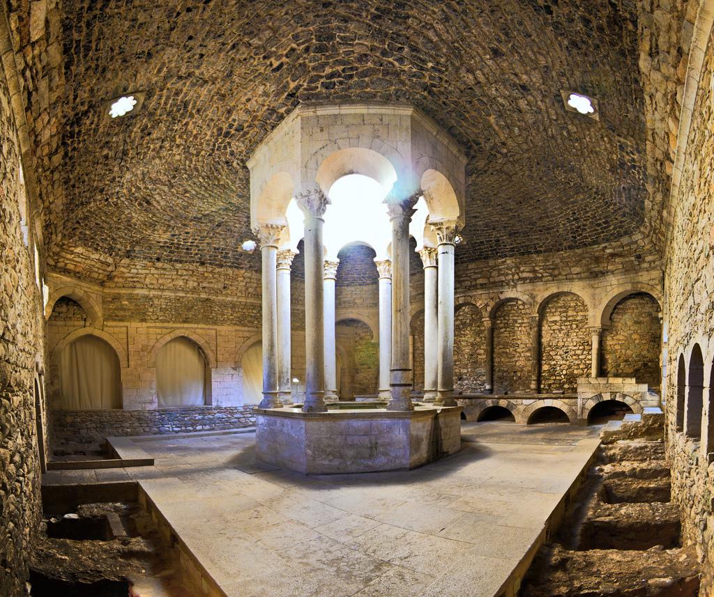 Baños arabes de Girona, localización juego de tronos Gerona