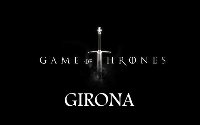 Todas las localizaciones de juego de tronos en Girona