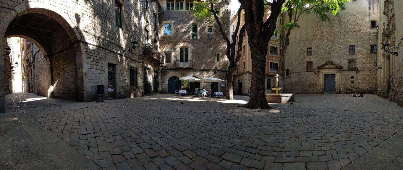 Plaça de Sant Felip Neri,Barrio Gótico de Barcelona