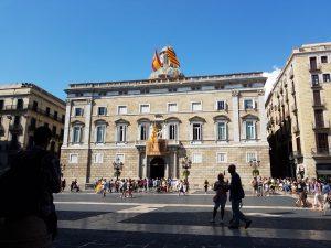 plaza Sant Jaume, Ayuntamiento de Barcelona