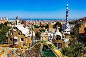 Parque Guell de Gaudí, Barcelona